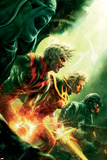 Annihilation: Conquest No4 Cover: Quasar  Adam Warlock and Star-Lord