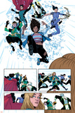 Young Avengers No 9: Wiccan  Loki  Bishop  Kate  Noh-Varr  Miss America  Hulkling