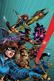 X-Men Forever No 1: Pryde  Kitty  Lockheed  Sabretooth  Cyclops  Gambit  Wolverine
