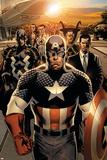 New Avengers No 1: Captain America  Stark  Tony  Black bolt  Mr Fantastic  Namor  Dr Strange