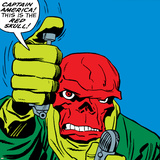 Marvel Comics Red Skull - Panel Art