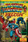 Marvel Comics Retro Style Guide: Falcon  Captain America