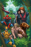 Marvel Adventures The Avengers No33 Cover: Wolverine