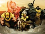 Astonishing X-Men: Xenogenesis No 2: Wolverine  Armor  Frost  Emma  Storm  Cyclops  Beast