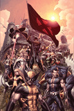 Nation X No 1: Wolverine  Namor  Beast  Magik  Nightcrawler  Cyclops