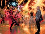 Avengers vs X-Men No 11: Cyclops  Professor X  Dr Strange  Cage  Luke  Storm  Thor