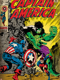 Marvel Comics Retro Style Guide: Captain America  Bucky  Hulk