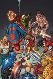 Wolverines Weapon X No 15: Deathlok  Spider-Man  Wolverine  Iron Fist  Cage  Luke  Spider Woman