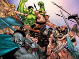 Hulk Vs Hercules: When Titans Collide No1 Group: Hulk  Thor and Dr Strange