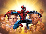 Ultimate Spider-Man No 200: Spider-Man  Mary Jane  Stacy  Gwen  Captain America  Green Goblin