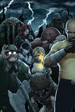 Dark Avengers No 182: Troll  Cage  Luke  Moonstone  Mr Hyde  Juggernaut  Satana