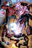 Avengers No 34: Iron Man  Spider-Man  Red Hulk  Wonder Man  Wolverine
