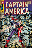 Marvel Comics Retro Style Guide: Captain America  Bucky  Red Skull