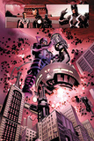 New Avengers No 4: Galactus  Mr Fantastic  Iron Man  Black Panther  Black Bolt