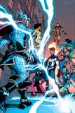 New Warriors No 6: Thor  Scarlet Spider  Sun Girl  Speedball  Iron Man  Hummingbird  Haechi