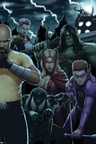 Dark Avengers No 183: Toxie Doxie  Al Apaec  Trickshot  Skaar  Songbird  Cage  Luke