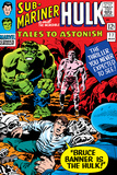 Tales To Astonish No77 Cover: Hulk  Banner and Bruce