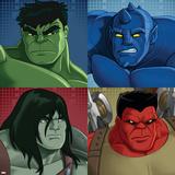 Hulk - SMASH - Patterns