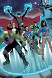 Young Avengers No 7: Miss America  Marvel Boy  Hawkeye  Hulkling  Loki  Wiccan
