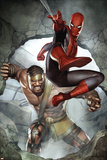 Assault on New Olympus Prologue No1 Cover: Spider-Man and Hercules