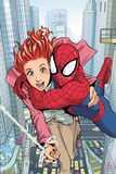 Spider-Man Loves Mary Jane No1 Cover: Spider-Man  and Mary Jane Watson