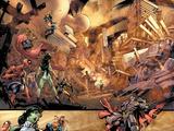 Marvel Team-Up No11 Group: Ms Marvel  She-Hulk  Spider-Man  Dr Strange  Nova and Titannus