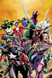 Avengers: The Childrens Crusade - Young Avengers No1: Captain America  Hawkeye  Stinger and Others