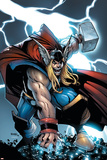 Avengers: The Initiative No21 Cover: Thor