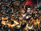 X Necrosha No 1: Wolverine  Magik  Rogue  Selene  Warpath  Archangel  X-23  Cannonball