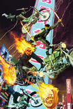 Ghost Rider No35 Cover: Ghost Rider