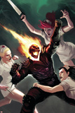 Ghost Rider No21 Cover: Ghost Rider