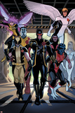X-Men Legacy Annual No1 Group: Cyclops  Wolverine  Nightcrawler and Angel