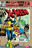 Uncanny X-Men No153 Cover: Shadowcat and Colossus