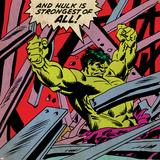 Marvel Comics Hulk - Panel Art