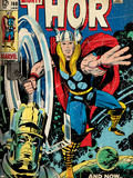 Marvel Comics Retro Style Guide: Thor  Galactus