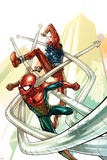 Spider-Man: The Clone Saga No4 Cover: Spider-Man and Scarlet Spider