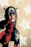 New Avengers No.61 Cover: Captain America Reproduction d'art par Stuart Immonen