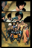 Ultimate X-Men No91 Group: Wolverine  Pyro  Storm and Beast
