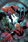 Guardians of the Galaxy No17 Cover: Adam Warlock  Gamora  Black Bolt and Medusa