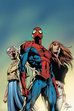 Amazing Spider-Man No519 Cover: Spider-Man  May Parker  and Mary Jane Watson