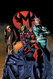 Civil War: House Of M No2 Cover: Magneto and Quicksilver