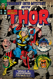 Marvel Comics Retro Style Guide: Thor  Absorbing Man  Odin  Loki