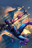 House Of M No4 Cover: Hawkeye