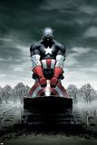 Captain America No4 Cover: Captain America