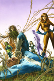 Son Of M No3 Cover: Quicksilver and Crystal