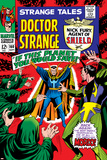 Strange Tales No160 Cover: Dr Strange and Baron Mordo