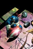 Avengers No503 Cover: Captain America and Mjolnir