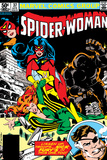 Spider-Woman No37 Cover: Spider Woman  Siryn  Juggernaut and Nick Fury