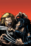 Wolverine No15 Cover: Wolverine and Sabretooth
