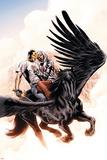 Captain Britian And MI:13 No7 Cover: Black Knight